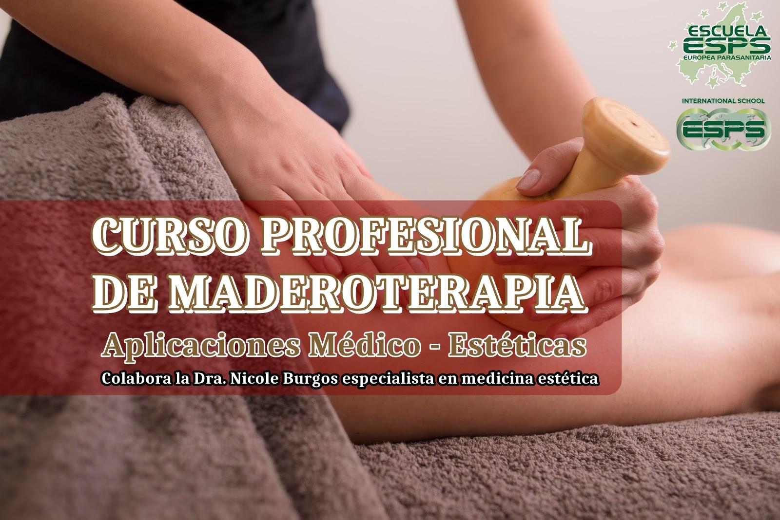Curso de maderoterapia para balnearios